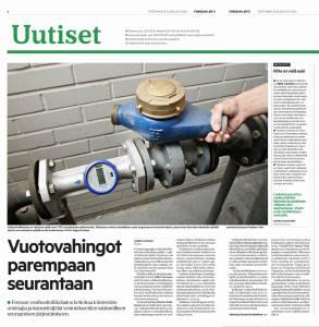 Forssan Lehti 25.8.2016 - Vuotovahingot parempaan seurantaan